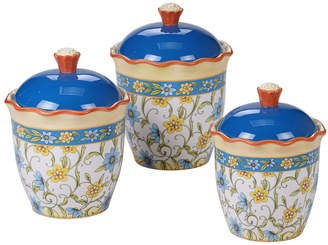 Certified International Torino Canisters, Set of 3