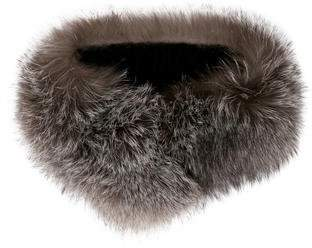 Surell Fox Fur Collar