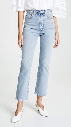 A Gold E AGOLDE High Rise Kick Pinch Waist Jeans