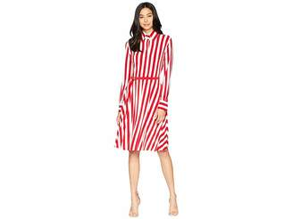 Norma Kamali KAMALIKULTURE by Shirt Flared Dress To Knee