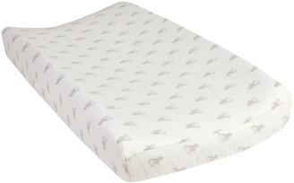Trend Lab Stag Head Flannel Changing Pad Cover
