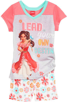 Disney Disney's Princess Elena of Avalor 2-Pc. Pajama Set, Little & Big Girls