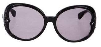 John Galliano Oversize Tinted Sunglasses
