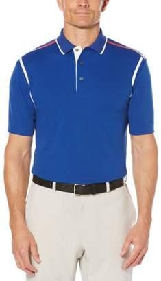 Hogan Ben Men's Performance Short Sleeve Color Block Golf Polo Shirt