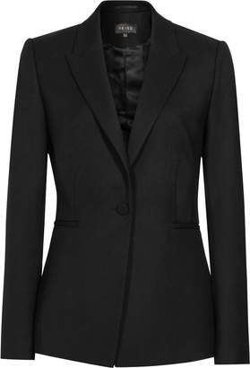 Reiss Moss - Textured Blazer in Black
