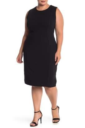 Marina Sleeveless Shift Dress (Plus Size)