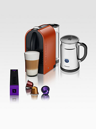 Nespresso U C50 Espresso Machine & Aeroccino Automatic Milk Frother