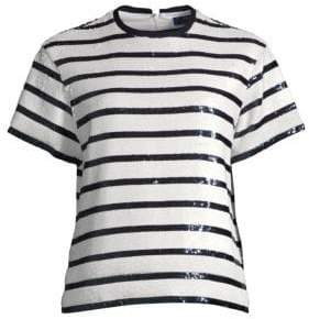 Polo Ralph Lauren Sequins& Stripes Top