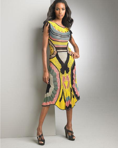 Jean Paul Gaultier Crocheted Dress