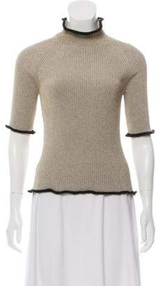 Golden Goose Metallic Knit Top