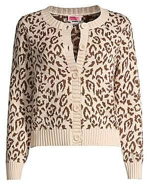 Kate Spade Women's Panther Intarsia Knit Cardigan