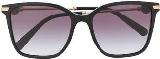 Bulgari oversized square sunglasses
