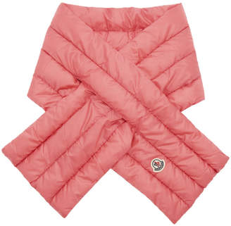Moncler Pink Down Scarf