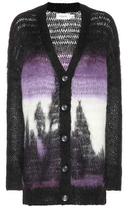 Coach Mohair and wool-blend cardigan