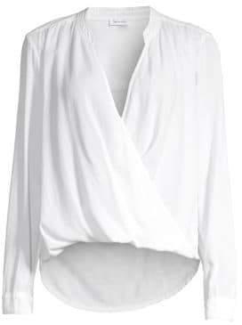 Splendid Women's The Sienna Surplus Blouse - White - Size Large