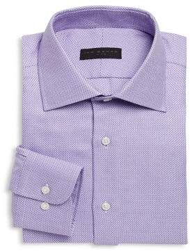 Ike Behar Regular-Fit Dobby Dress Shirt