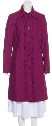 Burberry Long Sleeve Long Coat