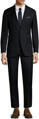 Michael Bastian Gray Label Wool Pick Stitch Travel Suit