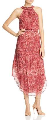 Ramy Brook Jolene Sleeveless Silk Paisley-Print Dress