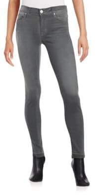 Hudson Skinny Ankle Jeans - Dismantle Grey