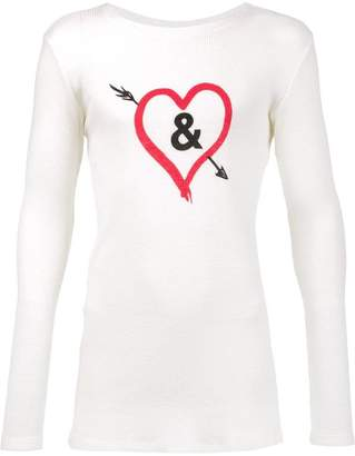 Harmon Judson 'Ampersand Collab' T-shirt