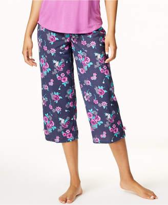 Jenni by Jennifer Moore Printed Cropped Pajama Pants
