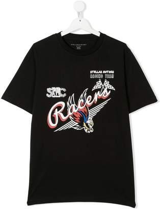 Stella McCartney Racers print oversized T-shirt