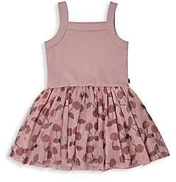 Huxbaby Little Girl's Cherry Summer Ballet Dress