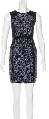 Rebecca Minkoff Ruched Printed Dress w/ Tags