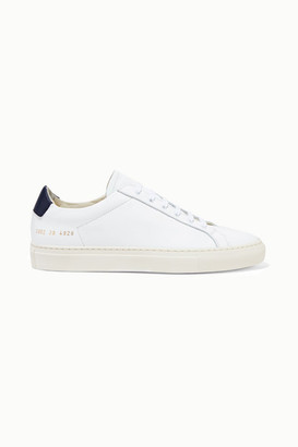 Common Projects Retro Two-tone Leather Sneakers - White