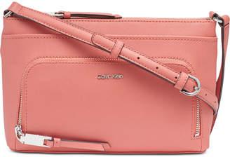 71f1f805198 Calvin Klein Lily Saffiano Leather Crossbody