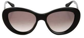 David Yurman Gradient Round Sunglasses