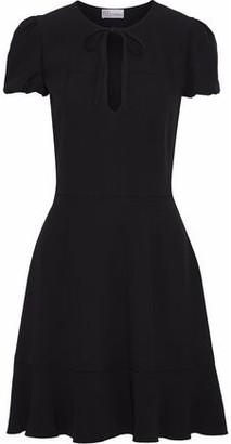 RED Valentino Satin-Crepe Mini Dress