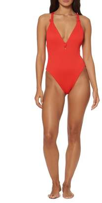Dolce Vita Knot Back One-Piece Swimsuit