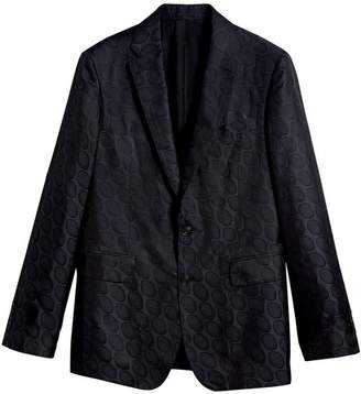 Burberry Soho fit spotted evening jacket