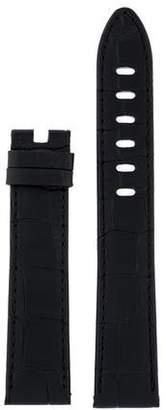 Montblanc 20mm Alligator Watch Strap