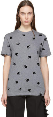 McQ Grey Mini Swallow T-Shirt