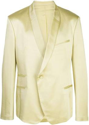 Haider Ackermann asymmetric button blazer