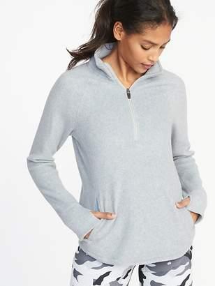 Old Navy Micro Performance Fleece 1/4-Zip Pullover for Women