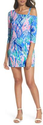Lilly Pulitzer R) One-Shoulder Minidress