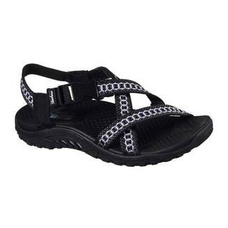 0c7815467d02 Skechers Black Strap Women s Sandals - ShopStyle