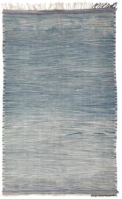 "ABC Home Moroccan Flat Weave Wool Rug - 5'3""x9'"