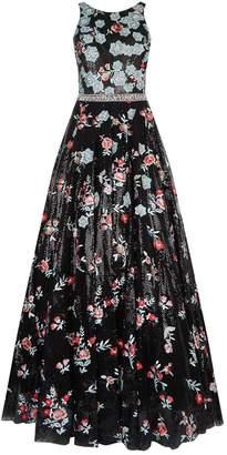 Jovani Floral Embellished Gown