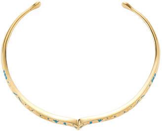Aurelie Bidermann Apache 18K Plated Collar Necklace