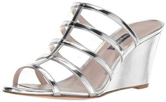 Nine West Women's Jesty Synthetic Wedge Sandal
