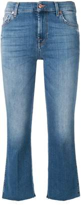 7 For All Mankind cropped straight jeans
