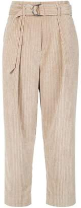 Andrea Marques cropped corduroy trousers