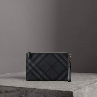 Burberry Check Zip Pouch