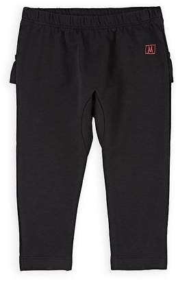 Munster Kids' Ruffled Cotton Terry Pants