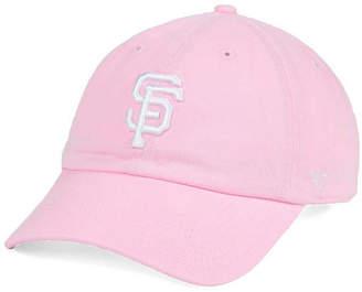 '47 Brand Women's San Francisco Giants Pink/White Clean Up Cap $27.99 thestylecure.com